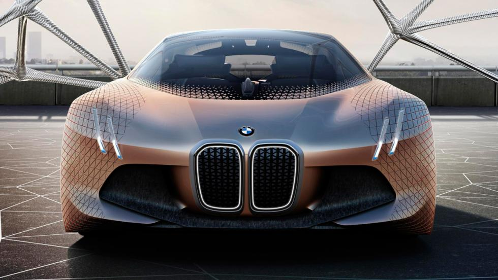 BMW Vision Next 100, frontal 2