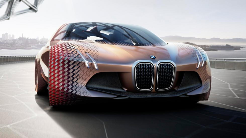BMW Vision Next 100, frontal