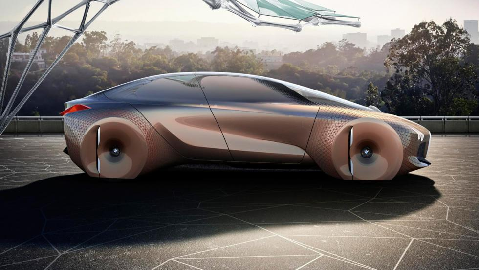 BMW Vision Next 100, lateral 3