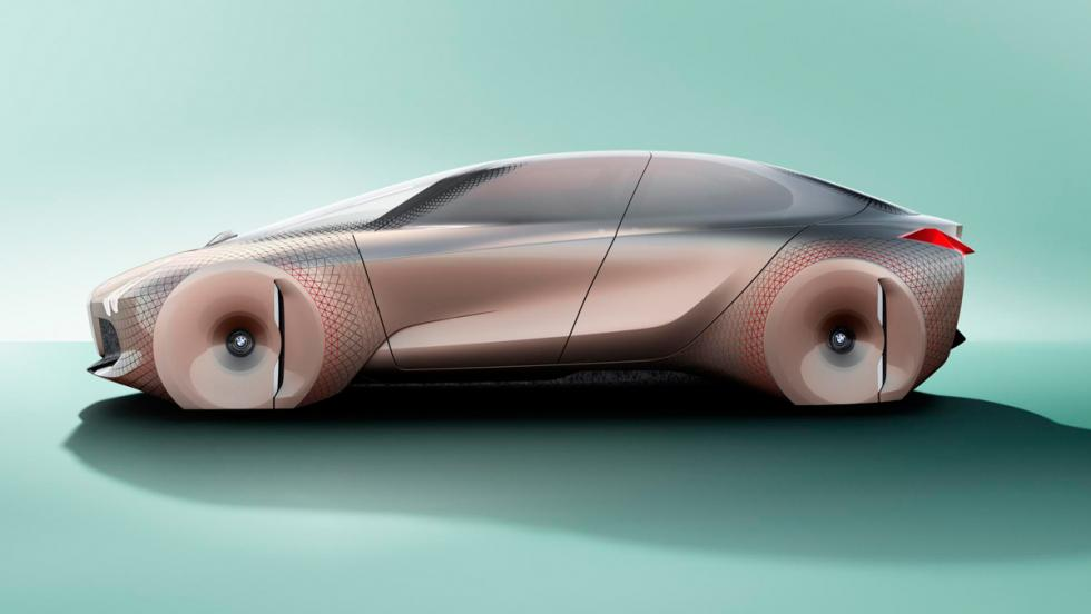 BMW Vision Next 100, lateral