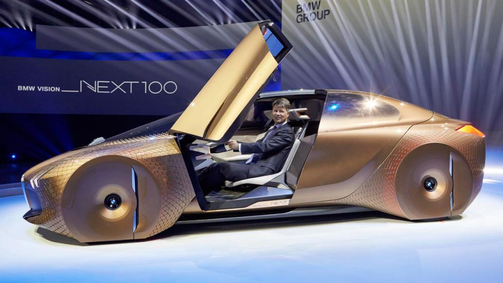 BMW Vision Next 100, presentación