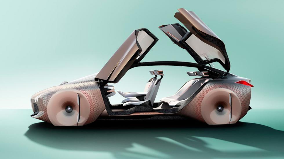 BMW Vision Next 100, puertas abiertas