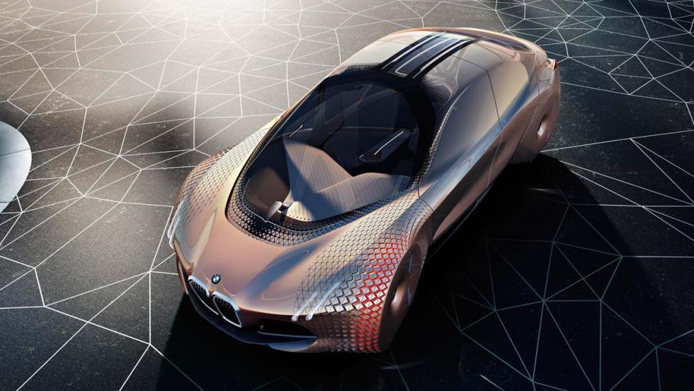 BMW Vision Next 100, techo