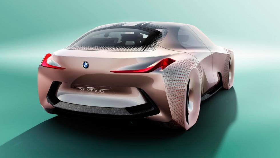 BMW Vision Next 100, trasera
