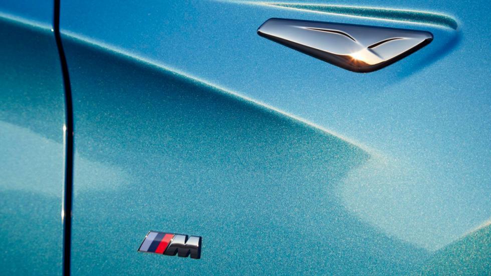 BMW X4 M40i, detalle logo