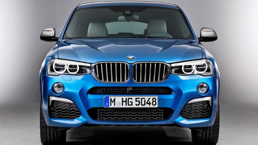 BMW X4 M40i, frontal