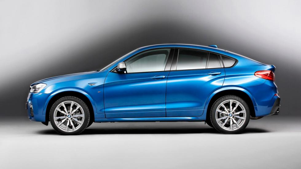 BMW X4 M40i, lateral