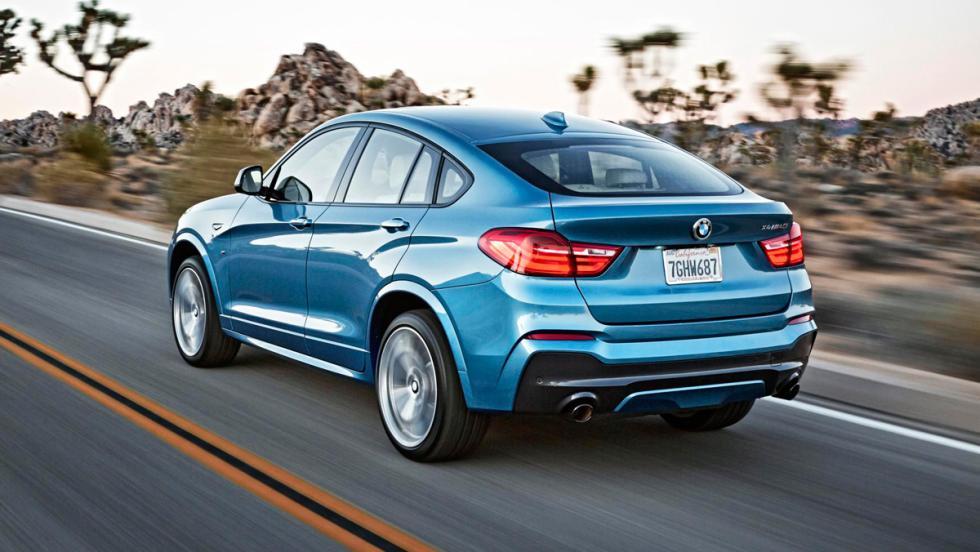 BMW X4 M40i, trasera