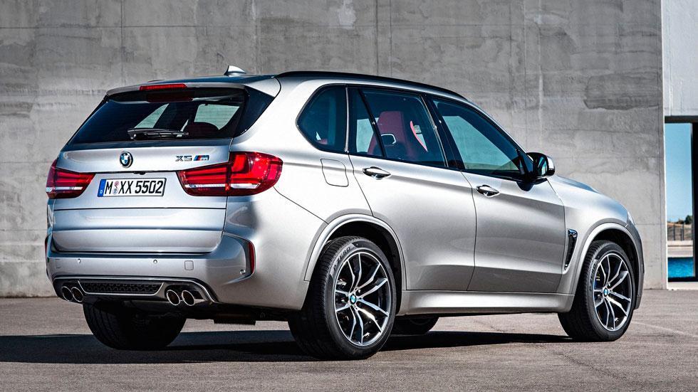 BMW X5 M trasera suv lujo rápido deportivo