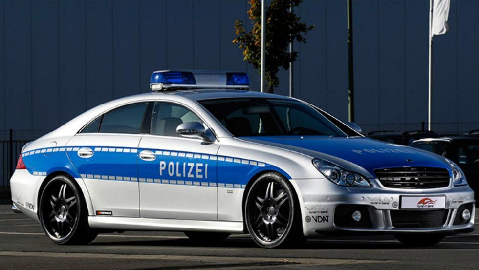 Brabus CLS V12 S - Policía de Alemania
