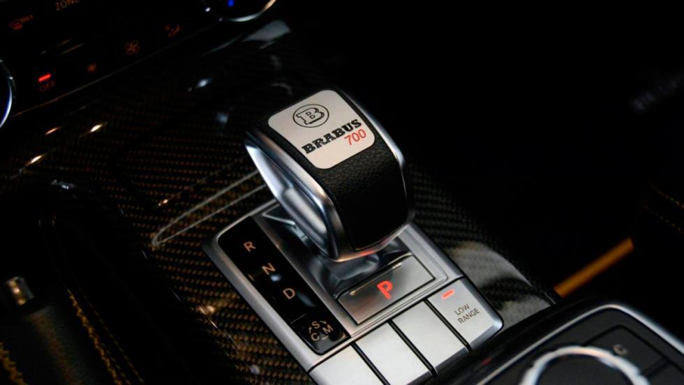 Brabus G63 AMG cambio