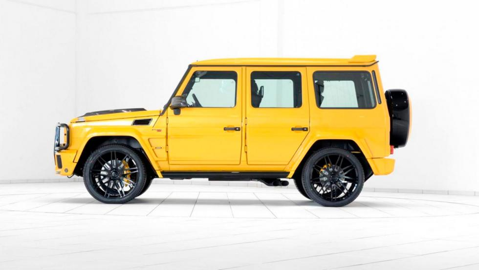 Brabus G63 AMG lateral