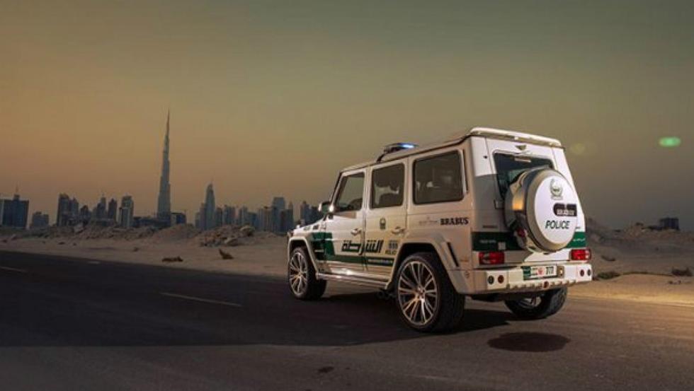 Brabus G63 AMG - Policía de Dubai