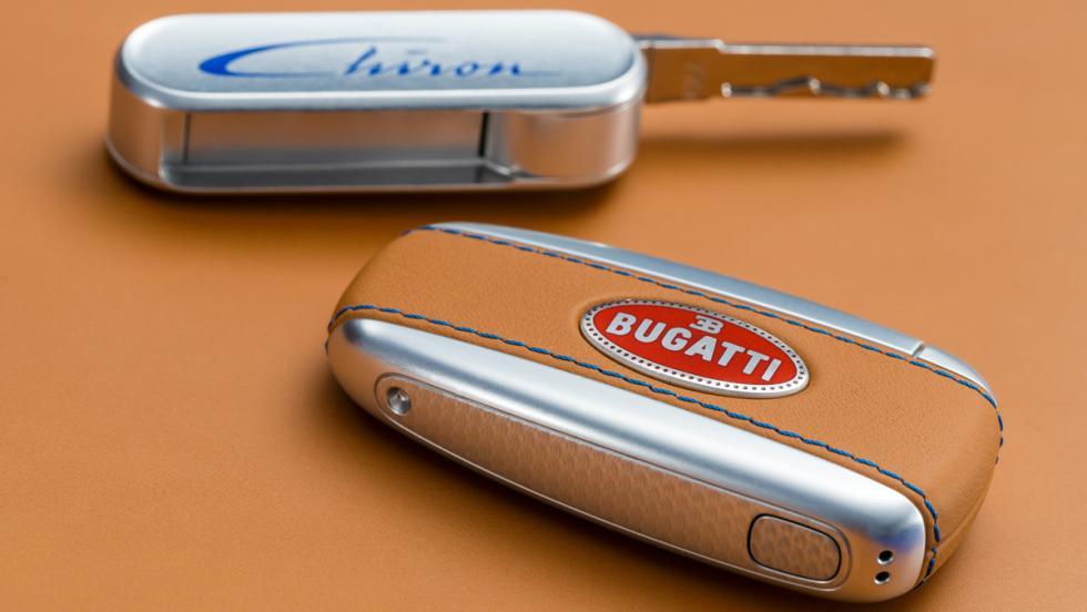 Bugatti Chiron llave
