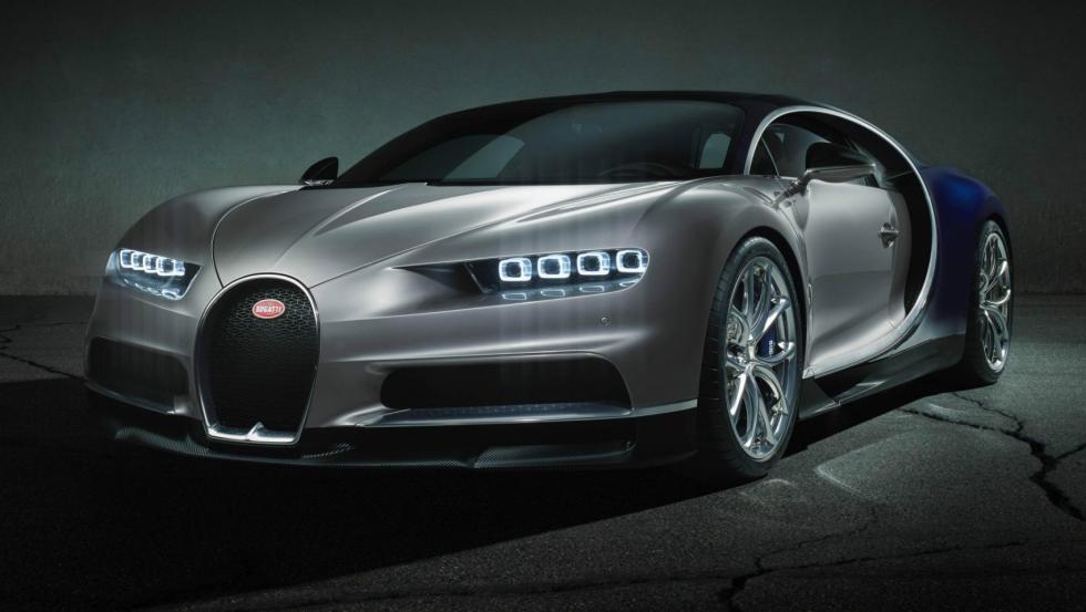 El Bugatti Chiron y sus rivales Bugatti Chiron 2