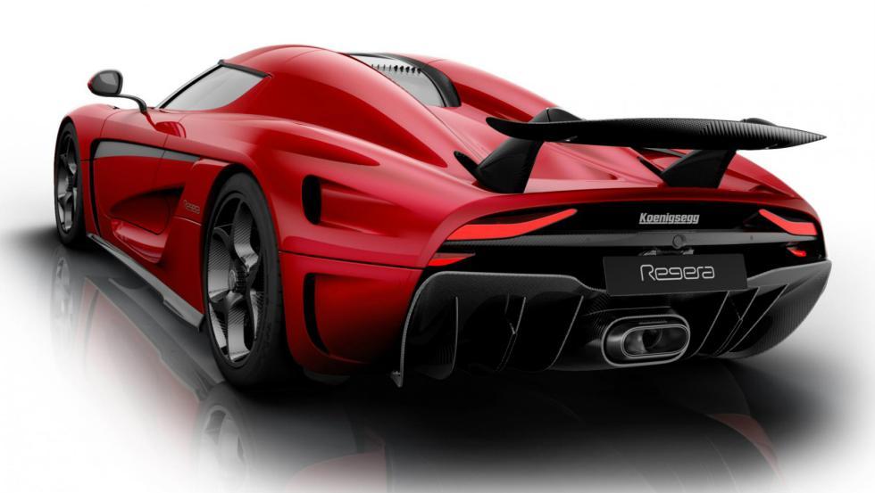 El Bugatti Chiron y sus rivales Koenigsegg Regera 2