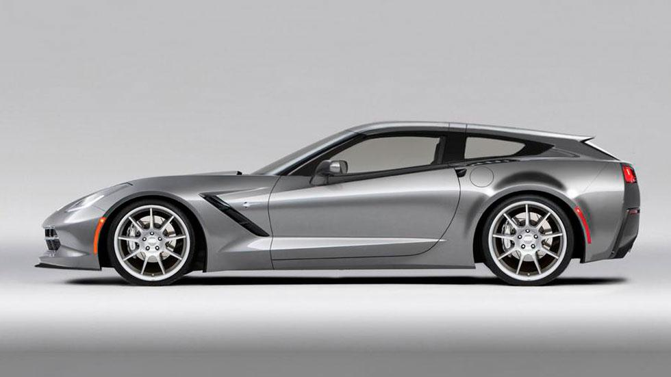 Callaway Aerowagen Corvette shooting brake