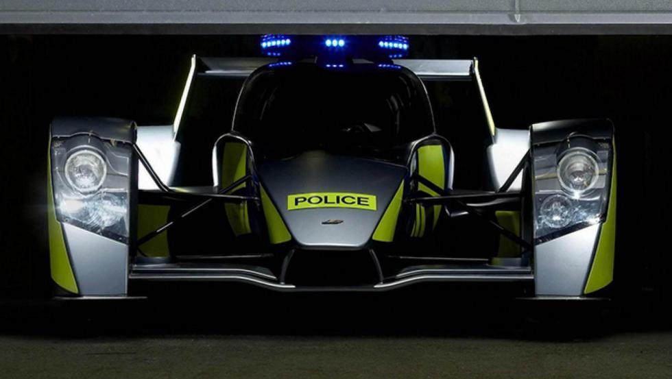 Caparo T1 - Policía de Reino Unido