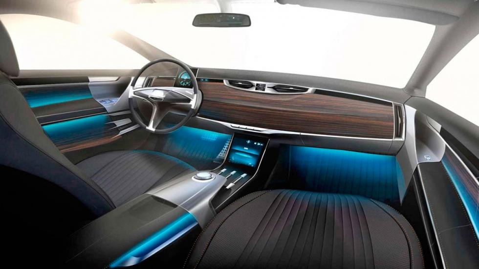 Cardi 442/Aston Martin DB9 interior