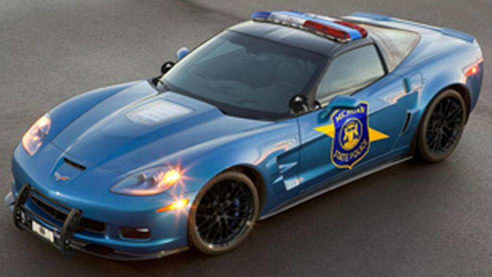 Chevrolet Corvette - Policía de EE.UU