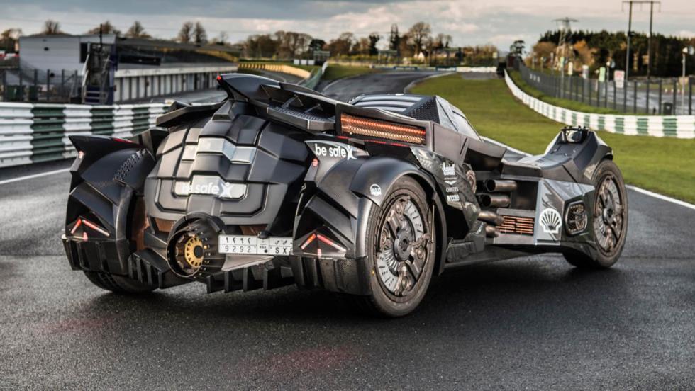 Coche Batman, Gumball 3000, 2