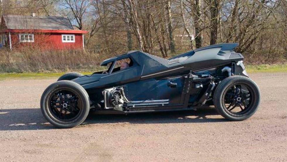 Coche Batman, Gumball 3000, 29