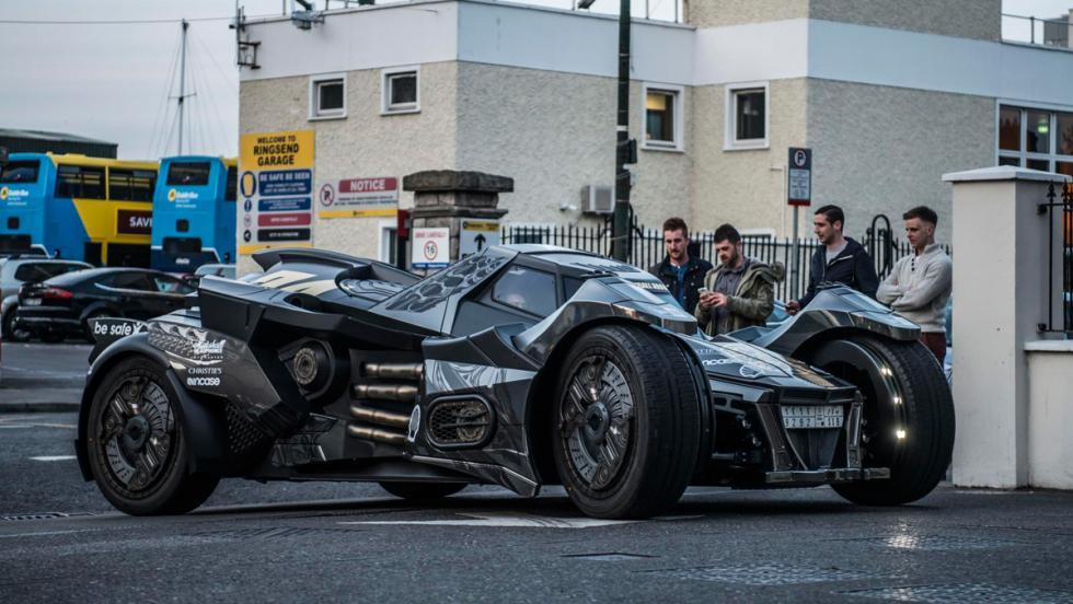 Coche Batman, Gumball 3000, 33