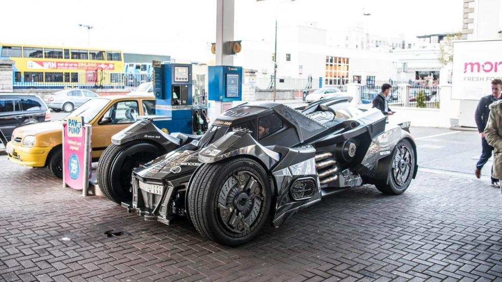 Coche Batman, Gumball 3000, 34
