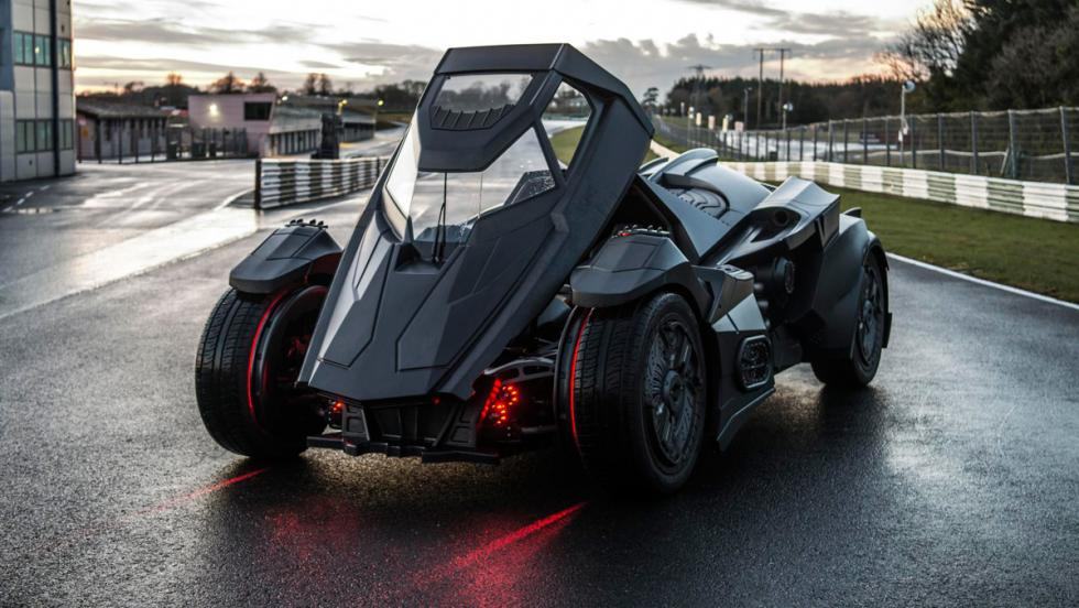 Coche Batman, Gumball 3000, 35