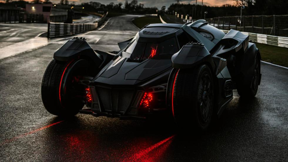 Coche Batman, Gumball 3000, 36