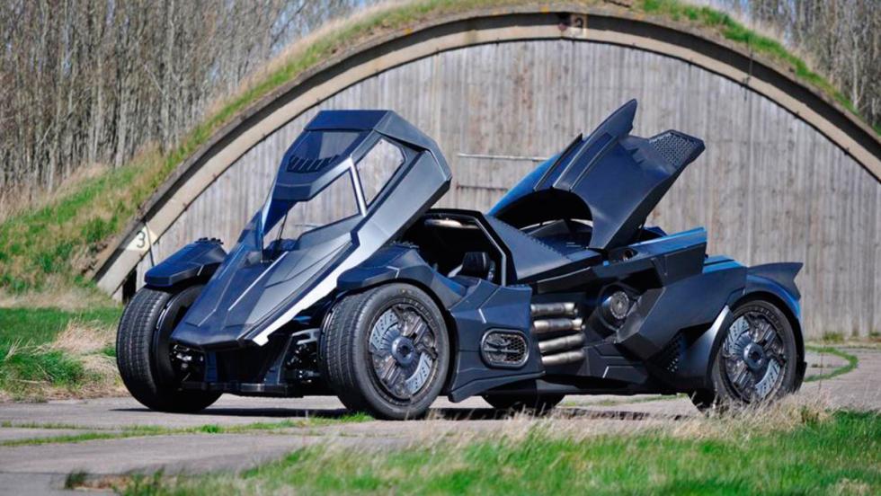 Coche Batman, Gumball 3000, 4