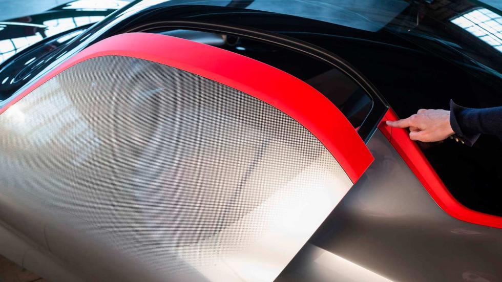 Detalle del diseño del Opel GT Concept