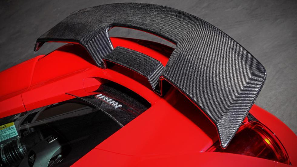 Ferrari 488 GTB detalle alerón