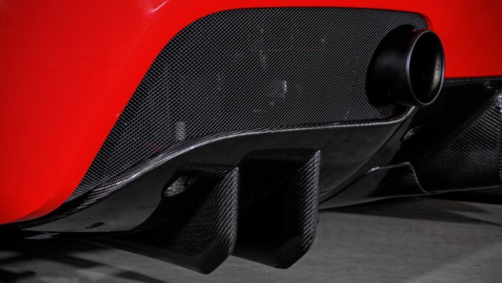 Ferrari 488 GTB detalle difusor