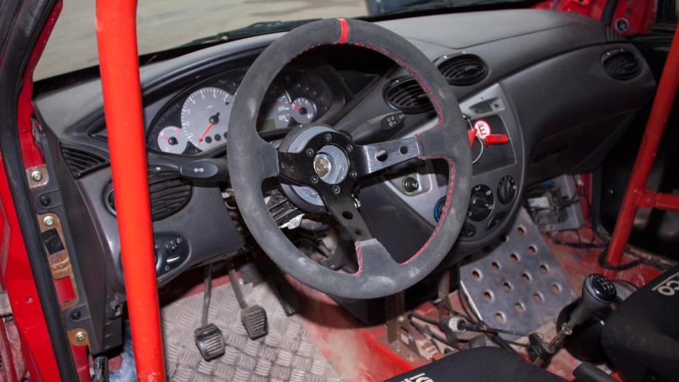 FocuXtreme, test Ford Focus 1.6, habitáculo