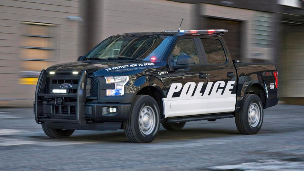 Ford F-150 Policía, lateral