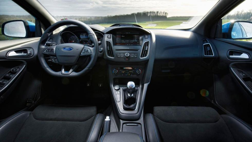 Ford Focus RS, interior