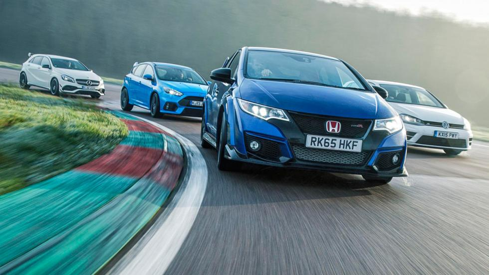 Ford Focus RS, rivales, frontal