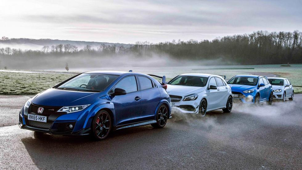 Ford Focus RS, rivales