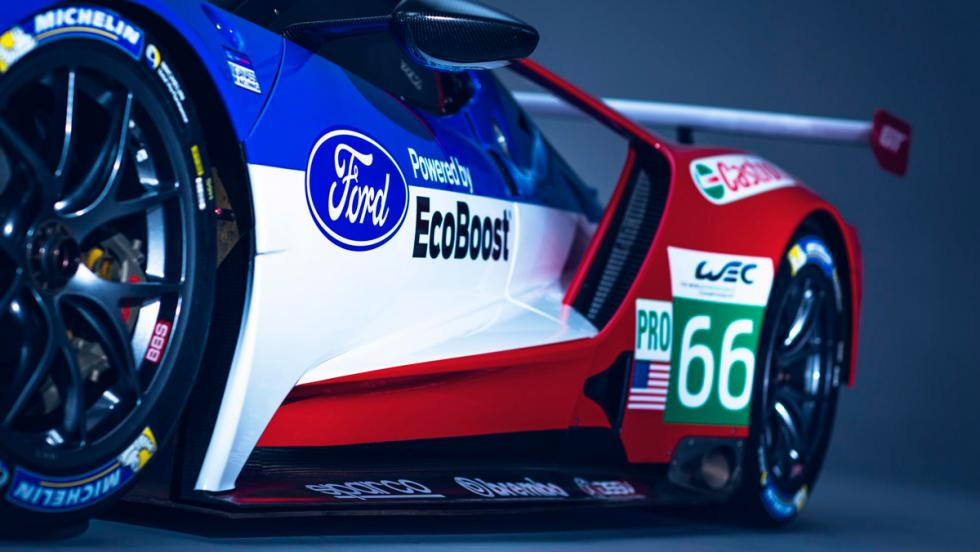Ford GT40 Le Mans, detalle