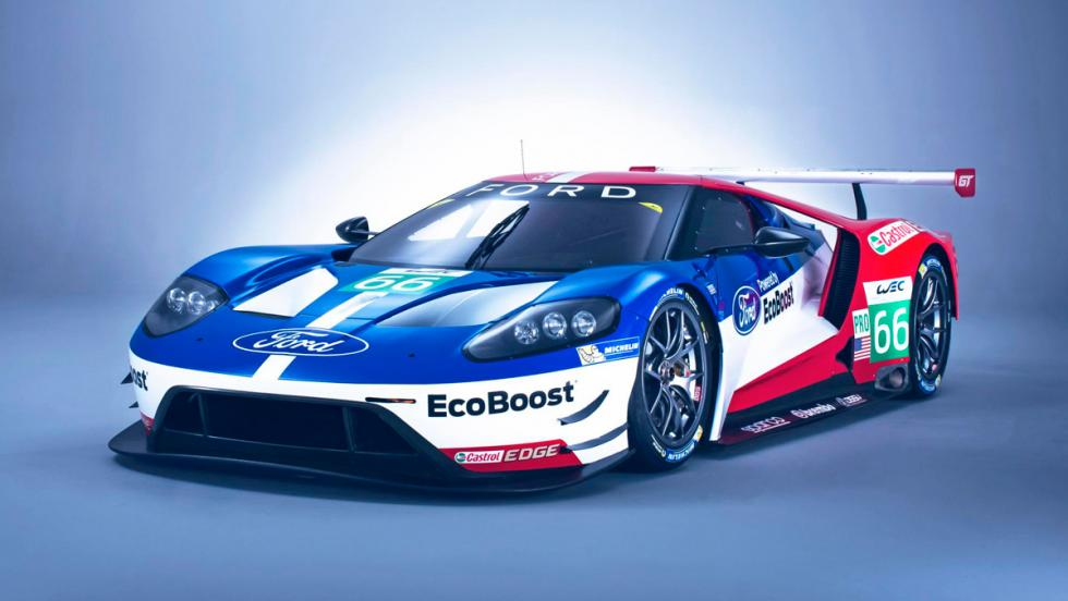 Ford GT40 Le Mans, estática