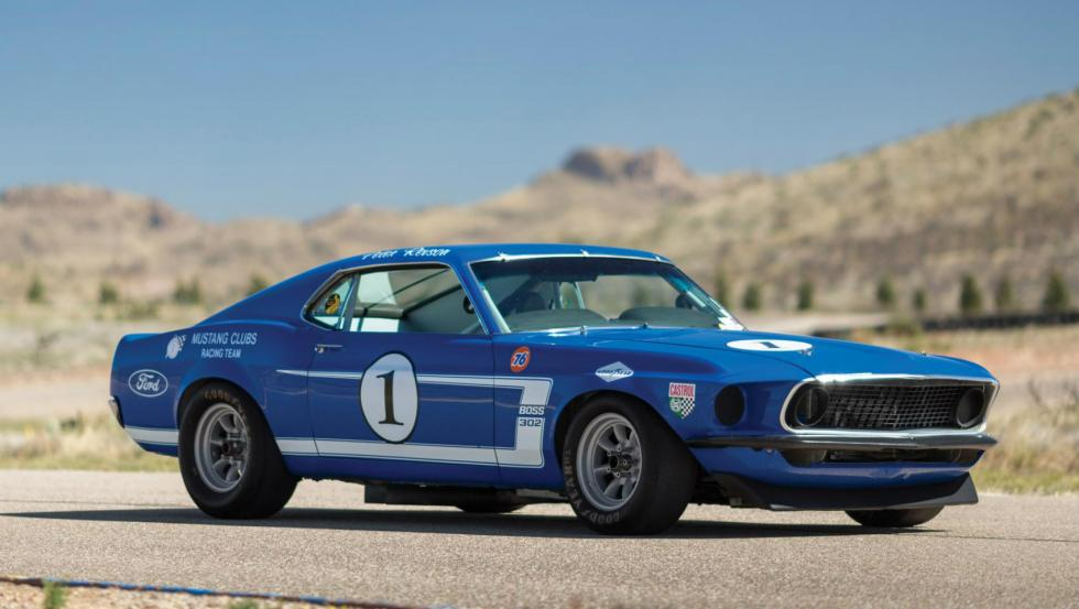 Ford Mustang Boss 302 Trans Am de 1969