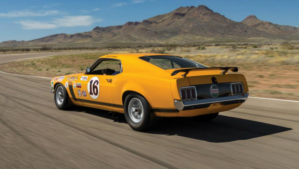 Ford Mustang Boss 302 Trans Am de 1970