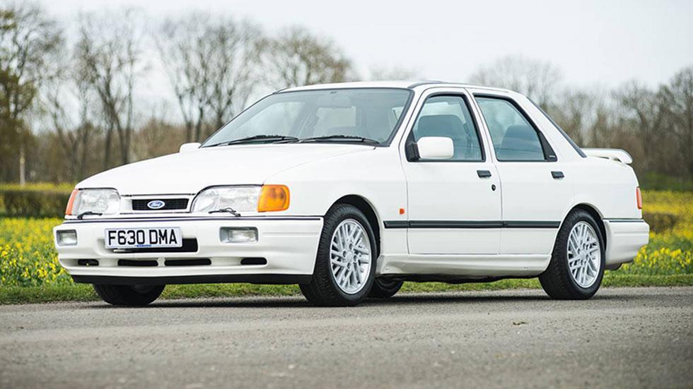 Ford Sierra RS Cosworth blanco subasta