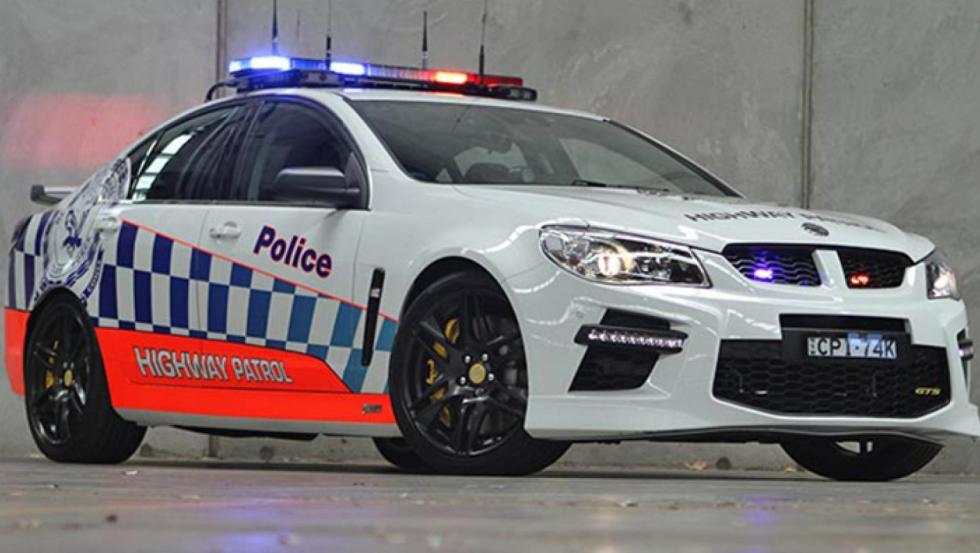 HSV GTS - Policía de Australia