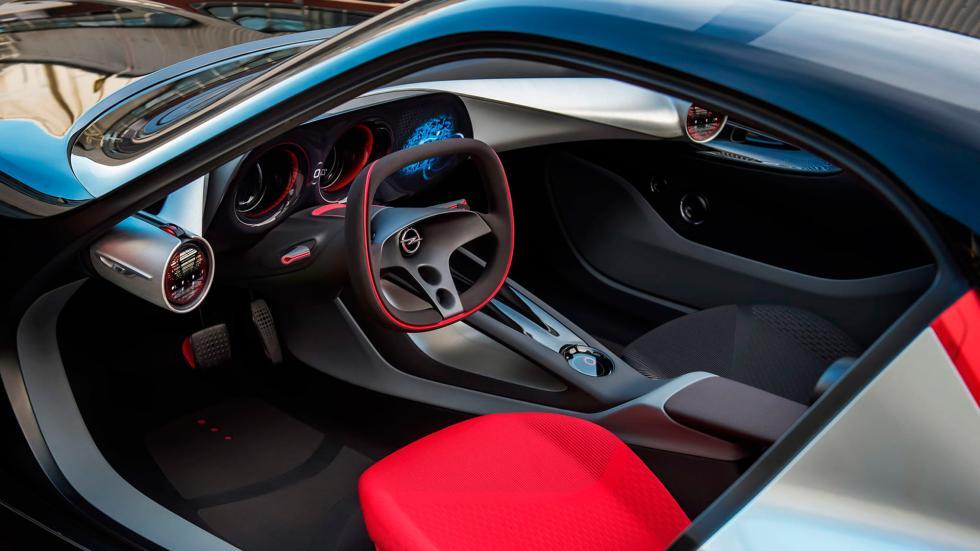 Interior del Opel GT Concept