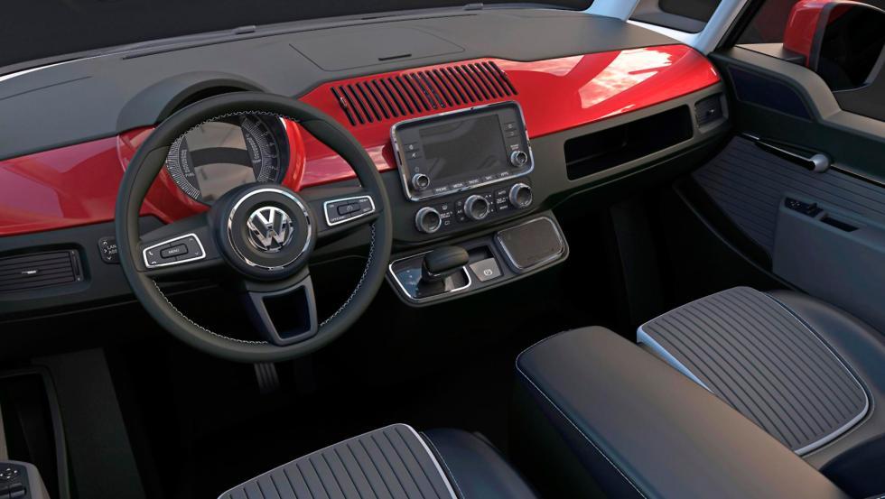 Interior del Volkswagen T1 Revival