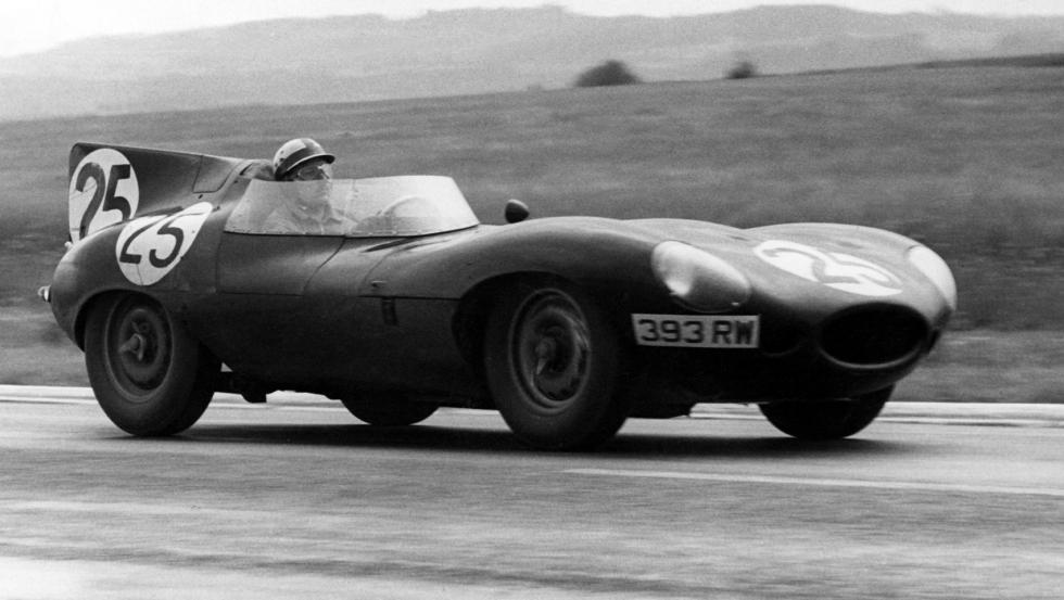 Jaguar D-Type en 1956