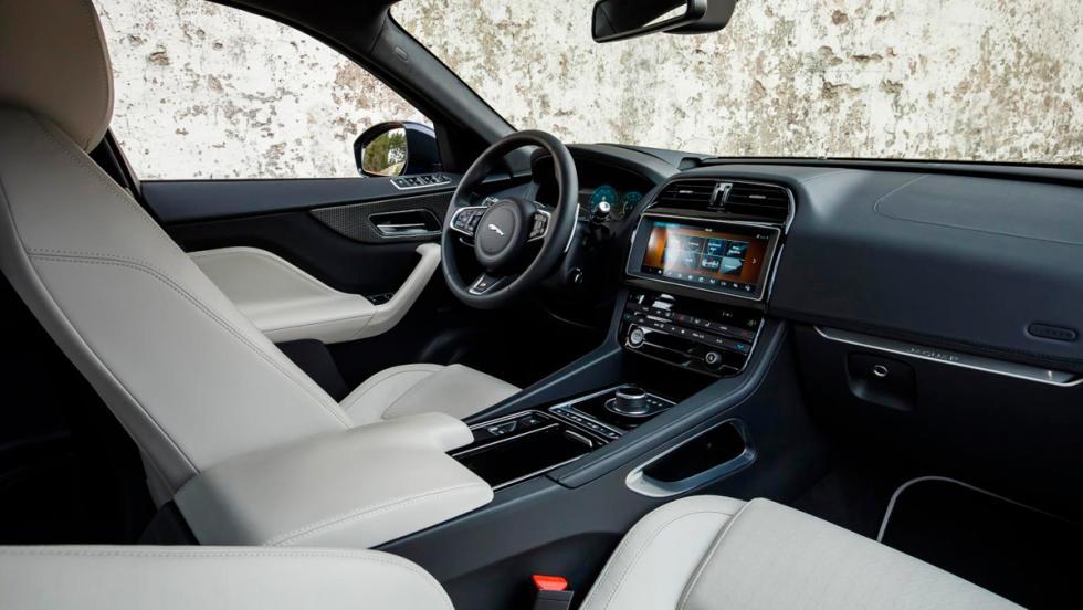 Jaguar F-Pace, asientos delanteros