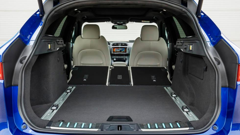 Jaguar F-Pace, maletero